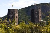Remains Of The Ludendorff Bridge In Remagen