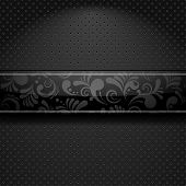Banner Floral abstracto