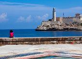 Morro Castle, Fortress Guarding The Entrance To Havana Bay, Cuba