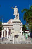 Statue Jose Marti (build 1906), Cienfuegos, Cuba