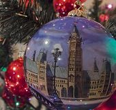 Parliament Christmas Ornament