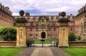 Stately home and gate