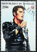 Presley - Senegal sello #5