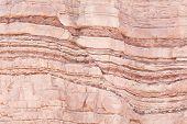 Fault In Sandstone Strata Deformation