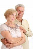 Great elderly couple