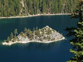 Island In Emerald Bay