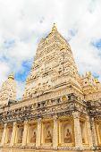 Pagode Buddhismus, jd Tempel heißt Bodhgaya, Bodhgaya