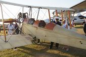 1914 type Royal Aircraft Factory BE2C plane