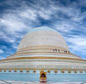 Kaunghmudaw Pagoda in Sagaing, Myanmar