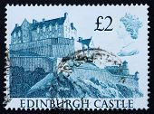 Postage Stamp Gb 1988 Edinburgh Castle