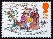 Postage Stamp Gb 1993 Mr. And Mrs. Fezziwig