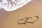 Two Hearts In The Sand