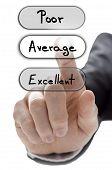 Choosing Average On Customer Service Evaluation Form