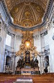Vatican. In St. Peter's cathedral