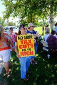 Tax Cuts Sign
