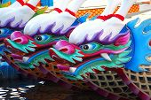 Traditional Dragon Boats In Taiwan