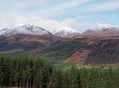 Scotland Highlands In Spring Laggan Area