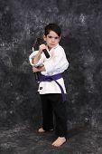 Karate Kid With Nunchucks