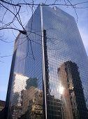 Building With Mirror Exterior