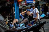 Rickshaw in Saigon, Vietnam