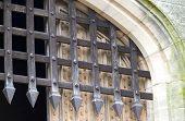Puerta de entrada de Portculis