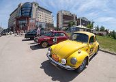 Samara, Russia - June 16: Rally Of Retro-cars