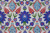 picture of ottoman  - Ancient hand made Turkish  - JPG