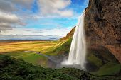 Waterfall In Iceland - Seljalandsfoss