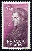 Postage Stamp Spain 1967 Jose De Acosta, Jesuit Missionary And Naturalist