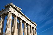 picture of parthenon  - Parthenon on the Acropolis in Athens - JPG