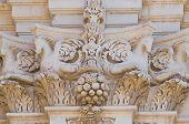 Basilica Church of St. Giovanni Battista. Lecce. Puglia. Italy.