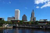 Sky Line View of Providence Rhode Island