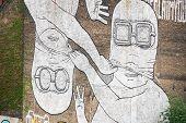 Mural de arte de rua