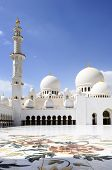 Sheikh Zayed Mosque In Abu Dhabi,
