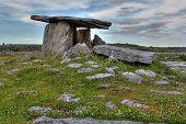 Poulnabrone Dolmen In Ireland