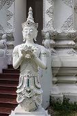 Thai Angel In Wat Sri Don Moon , Chiangmai Thai Temple