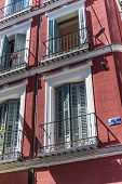 Building fa�?�?�?�§ade in Madrid, Spain