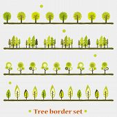 Tree boarder set