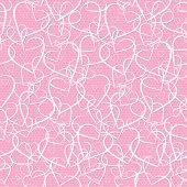 hearts lace pattern