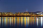 Seoul urban city
