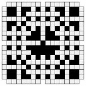 Black And White Crossword