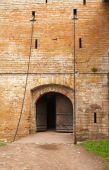 Medieval Castle Entrance poster