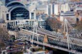 Tilt Shift of Charing Cross Train Station