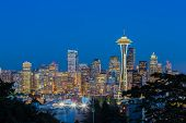 Seattle skyline, Washington USA