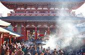 The Senso-ji Buddhist Temple