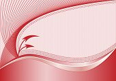 Abstract Background Red and Pink