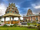 Mauritius. Hindu temple.