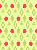 vector seamless rhomb background pattern