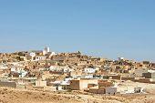 Village Tamezret In Tunisia