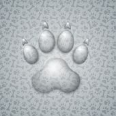 Trace Dog in the Form of Droplets Water